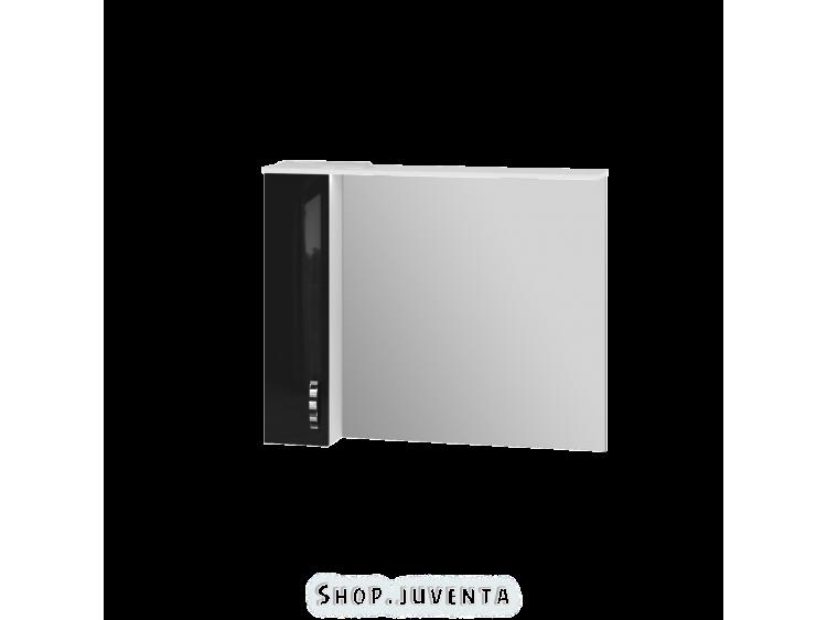Mirror cabinet Trento TrnMC-100 Left Black