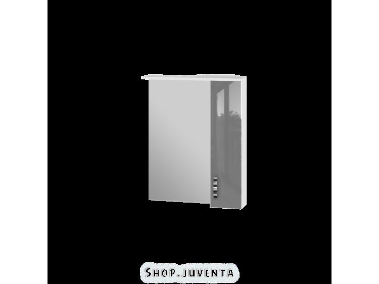 Дзеркальна шафа Trento TrnMC-65 права сіра