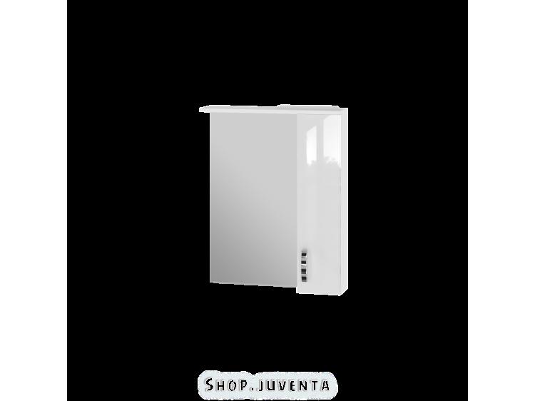 Зеркальный шкаф Trento TrnMC-65 правый белый