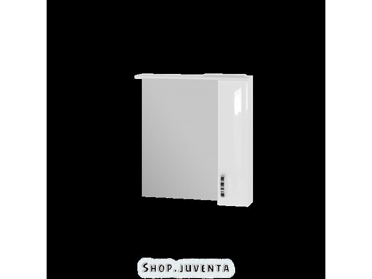 Зеркальный шкаф Trento TrnMC-75 правый белый