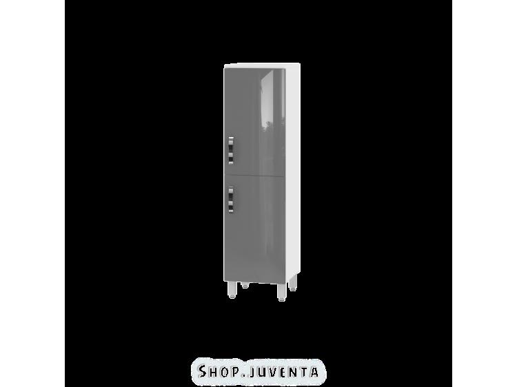 Tall storage unit Trento TrnP-120 Grey
