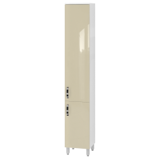 Tall storage unit Trento TrnP-190 Beige