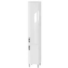 Tall storage unit Trento TrnP-190 White