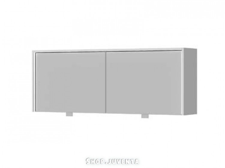 Mirror cabinet UMC-130 Rimini White