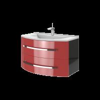 Тумба Vanessa Vn-90 червона