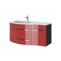 Vanity unit Vanessa Vndl-110 Red