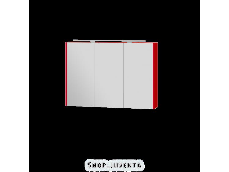 Зеркальный шкаф Vanessa VnM-100 красный