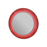 Зеркало Vanessa VnM-80 красное