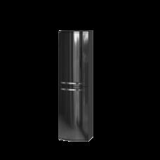 Tall storage unit Vanessa VnP-140 Black