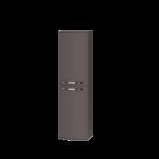 Tall storage unit Vanessa VnP-140 Dark Melon