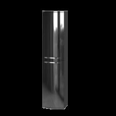 Tall storage unit Vanessa VnP-170 Black
