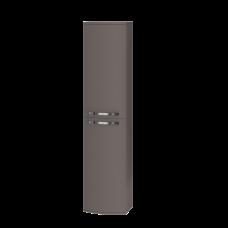 Tall storage unit Vanessa VnP-170 Dark Melon
