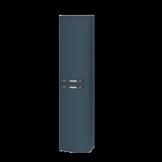 Tall storage unit Vanessa VnP-170 Indigo Blue